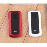 Quality Red 3G 4G Pocket Hotspot LTE 4G SIM CARD Router with 1.44 inch LCD for sale