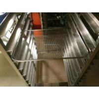Bakery Display Stainless Steel Tray Rack Trolley For The Oven Chamber Manufactures