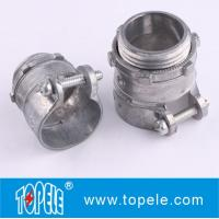Zinc Die-cast Flexible Conduit And Fittings Flexible Metal Straight Squeeze Connector Manufactures