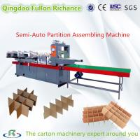 Semi Auto & Automatic Paper Board Cardboard Partition Assembling Machine Manufactures