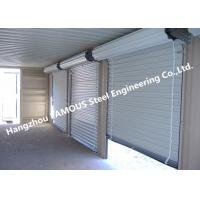 Residential Overhead Roll Up Industrial Steel Garage Doors With Fire Resistant Manufactures