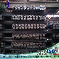 Construction Materials Light Steel Rail 92mm Botton Width For Temporary Transport Line Manufactures