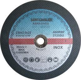 China Abrasive Thin Cuttig Disc for Inox 230x2.0x22.2 on sale
