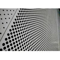 China Sound Absorbing Aluminium Perforated Panel , Pvdf Coated Aluminum Punch Plate  on sale