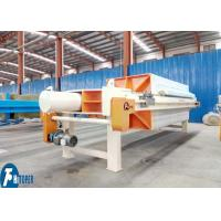 Compact Design Chamber Filter Press Copper Leaching Solution Separation Usage Manufactures