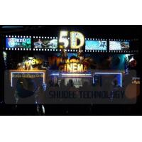 Electric 5D Movie Theater Motion Chairs System With Special Environment Effect Manufactures