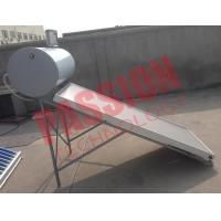 150L Solar Panel Hot Water Heater , Solar Assisted Water Heater Blue Titanium Manufactures