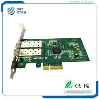 PCIe 1Gb dual Port Server Adapter Fiber Optic Network Card with
