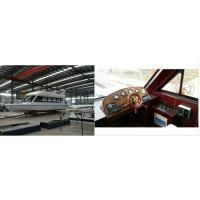 Spacious 20 People Rechargeable Eco-Friendly Luxury Electric Yacht 24V 11 KW Manufactures