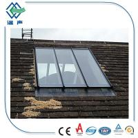 High efficiency Double insulated window panes Clear / Colored 6mm+12A+6mm Manufactures