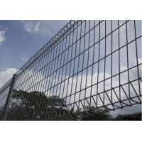 China Commercial Metal Security Fencing , Welded Wire Mesh Fencing Simple Structure on sale