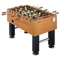 China Custom MDF with PVC harvard foosball soccer table, stable square feet with 6 justers on sale