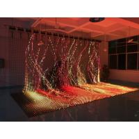 Waterproof Soft Flexible LED Video Panels Ultra Thin Large Size Curtain For Video Manufactures