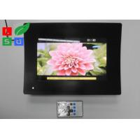 Temperature Glass Face LCD Digital Signage , Resolution 1024x600 LCD Advertising Player Manufactures