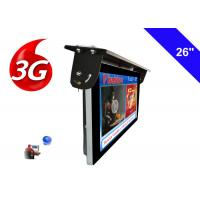 Android 3G / 4G Network Bus LCD Display Screen 1920 X 1080 Ceiling Mounted Installation Manufactures