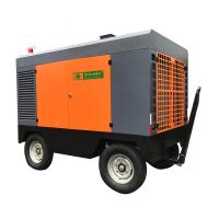 Strong Adaptability Portable Screw Air Compressor , Portable Diesel Air Compressor 13 Bar Manufactures