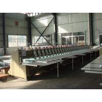 Automatic Multi Head Computerized Embroidery Machine Low Noise Less Vibration Manufactures
