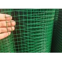 "0.7MM*3/4""*3/4""**1.5M*20M Green Pvc Welded Wire Mesh Used As Chick Mesh Manufactures"