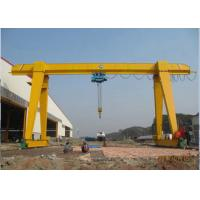 Electric Industrial Gantry Crane 20 Ton Lifting Equipment A Frame Type Wind Resistance