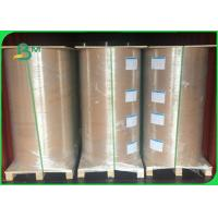 China 35 / 40gsm FSC Approved MG MF Food Grade White Kraft Paper In Roll on sale