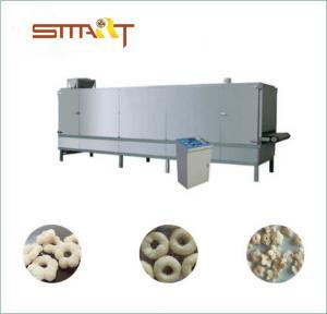 300-500Kg / Hr Snack Food Extruder Machine , Corn Snacks Making Machine Manufactures