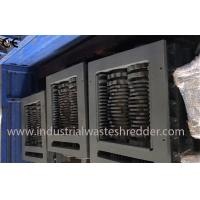 Waste Paper Industrial Waste Shredder Easy Blade Changing Customizable Capacity