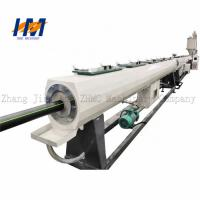 Servo Motor Plastic Pipe Extrusion Line Green Environmental Protection Manufactures