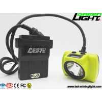 China 530LUM 25000lux IP68 LED Mining Light With Stainless Clip on sale