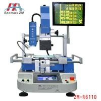 China Zhuomao bga rework station ZM-R6110 with optical alignment reballing kit on sale