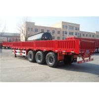 Quality 60 ton cargo ship vehicle equipment side wall semi trailer - CIMC for sale