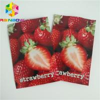 Three Side Heat Seal Packaging Bags Small Size Mylar Moisture Barrier For Cotton Candy Manufactures