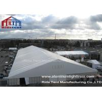 50m Length Outdoor Warehouse Tents , Canopy Storage Sheds / Shelter ABS Hard Wall Manufactures