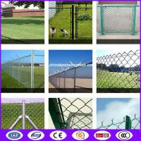 Hot Dipped Galvanized Chain Link Fencing , Horse / Panda / Deer Farm Fencing Manufactures