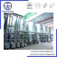 100L - 5000L Clean In Place Plants Stainless Steel Beer Beverage Dairy PU Insulation Manufactures
