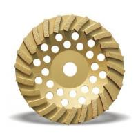 Turbo diamond cup grinding wheel for granite and marble Manufactures