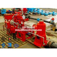 2 stage Multistage Vertical Turbine Fire Pump Sets With Firefighting Diesel Engine Driven With 500 Usgpm Manufactures