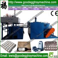 egg tray manufacturing plant from recycle of waste paper Manufactures