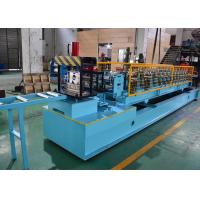 Mild Steel CZ Purlin Roll Forming Machine , C Lipped Channel Roll Forming Machine Manufactures