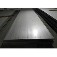 Brushed Stainless Steel Hot Rolled Plate , 4mm Stainless Steel Sheet NO 1 Manufactures