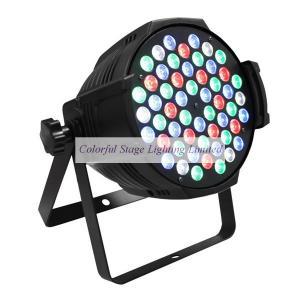 China 54x3W LED RGBW Par 64 Light on sale