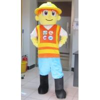 Lovely bob the builder Cartoon mascot costumes with good ventilation Manufactures