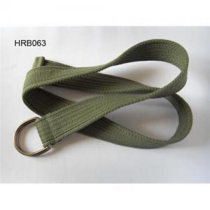 Cotton belt, canvas belt, china woven belt supplier
