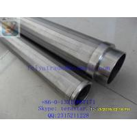 China stainless steel strainer pipe / Water Well Screen / Johnson Wire Screen / wedge wire oil well screen for drilling wells on sale