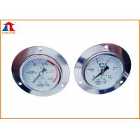 CE ISO Cutting Machine Gas Regulator Pressure Gauge For Gas Control Panel Manufactures