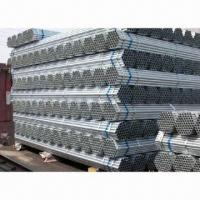 ASTM A36 Galvanized Steel Pipes with 1 to 12mm Thickness Manufactures