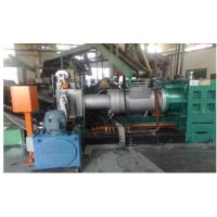 China High Output Pvc Single Screw Strainer Extruder With Double Head Strainer on sale