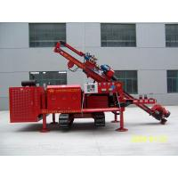 Quality Three Head Clamping Crawler Anchor Drilling Rig Drill Rig Machine Simple for sale