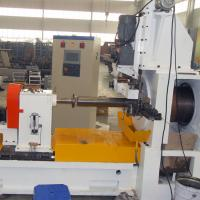 Big Diameter Screen Basket Wedge Wire Screen Production Machine , Cast Steel Material Manufactures