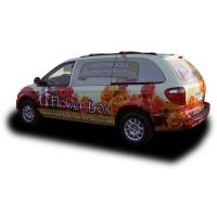 Weather Resistant Custom Car Magnets / Magnetic Vehicle Signs Full Color Printing Manufactures