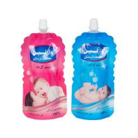 custom design shaped liquid pouches doypack spout bag packaging for body lotion Manufactures